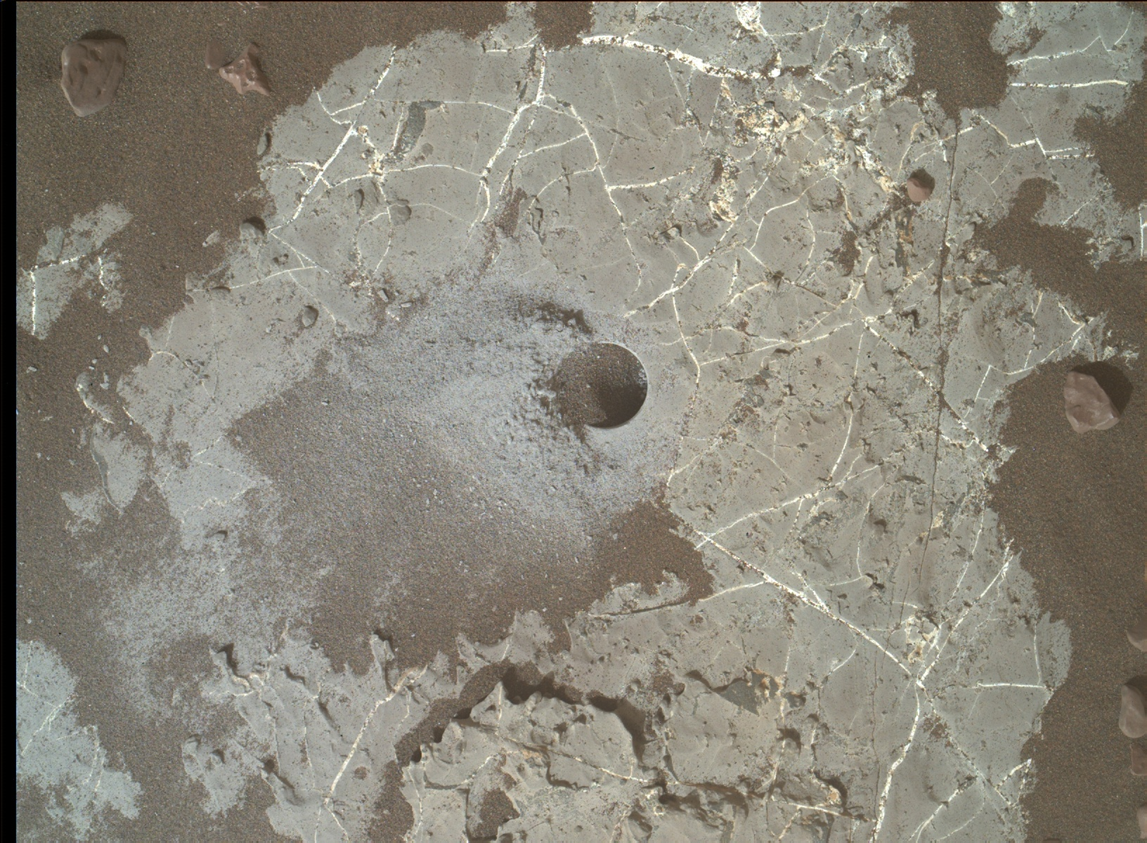 Sol 2250-2251: Grey today, red tomorrow!