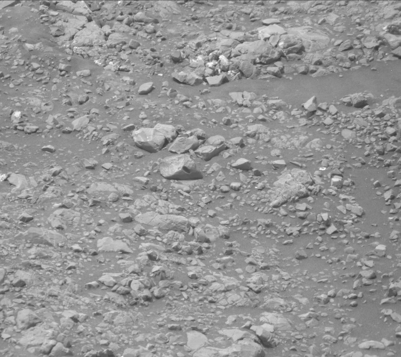 Nasa's Mars rover Curiosity acquired this image using its Mast Camera (Mastcam) on Sol 2255