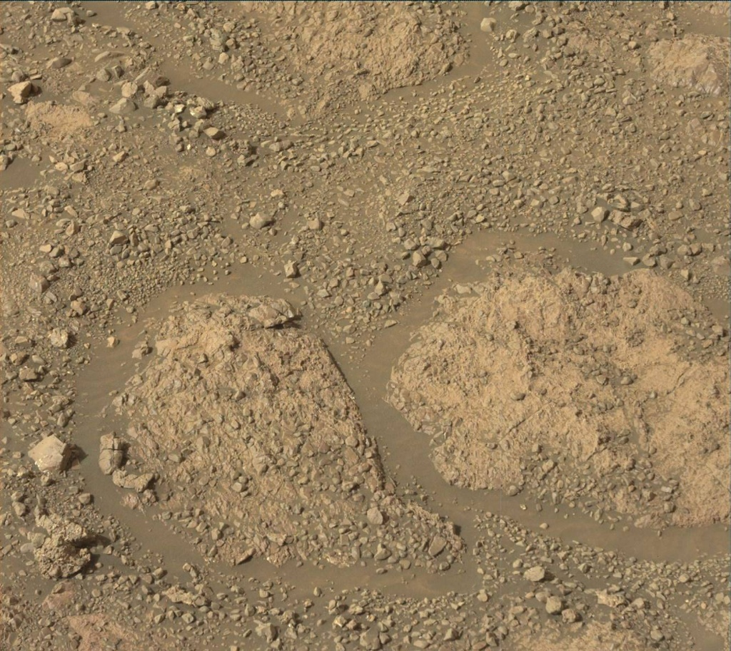 NASA's Mars rover Curiosity acquired this image using its Mast Camera (Mastcam) on Sol 2256