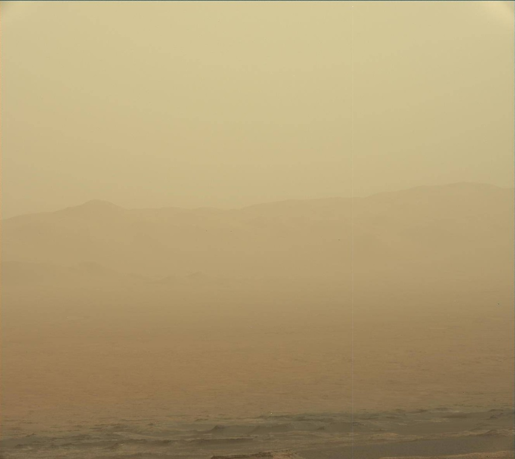 NASA's Mars rover Curiosity acquired this image using its Mast Camera (Mastcam) on Sol 2283