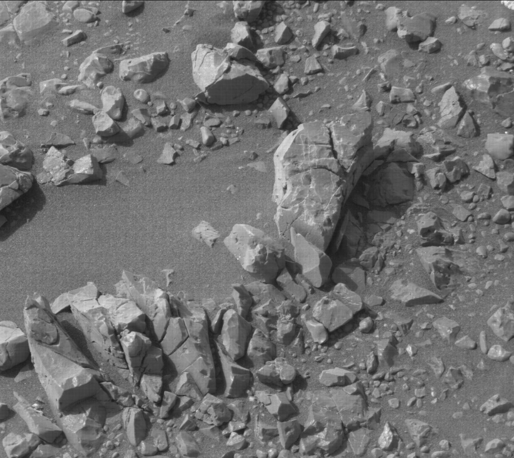 NASA's Mars rover Curiosity acquired this image using its Mast Camera (Mastcam) on Sol 2284