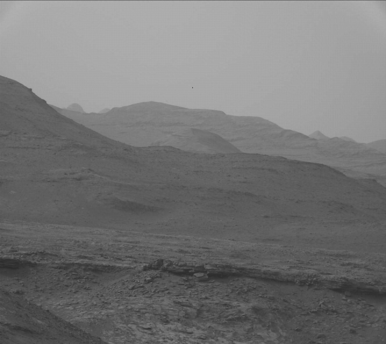 Nasa's Mars rover Curiosity acquired this image using its Mast Camera (Mastcam) on Sol 2287