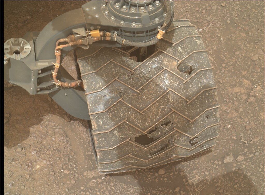NASA's Mars rover Curiosity acquired this image using its Mars Hand Lens Imager (MAHLI) on Sol 2291