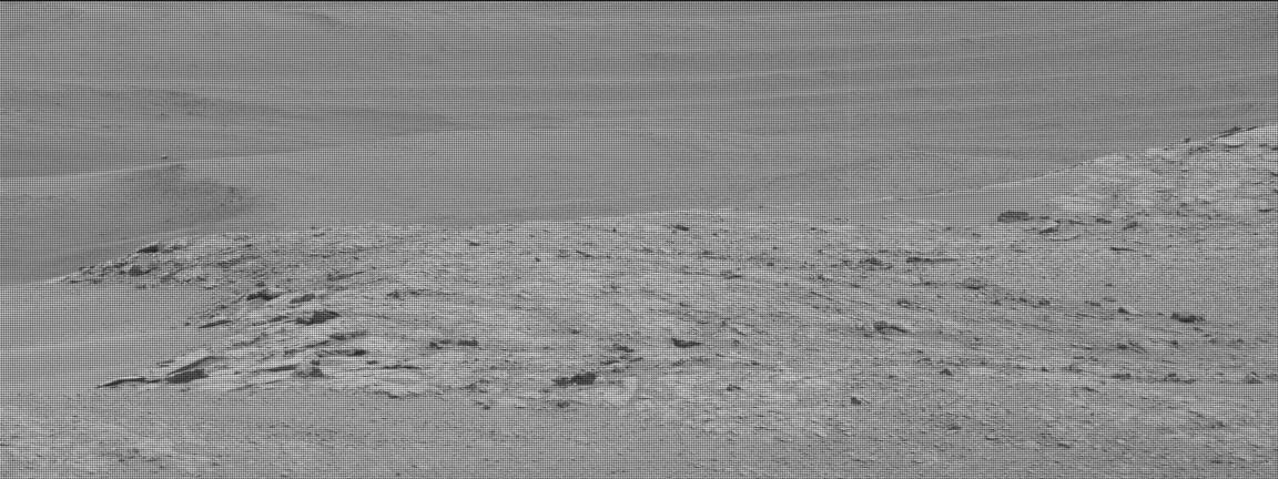 Nasa's Mars rover Curiosity acquired this image using its Mast Camera (Mastcam) on Sol 2300