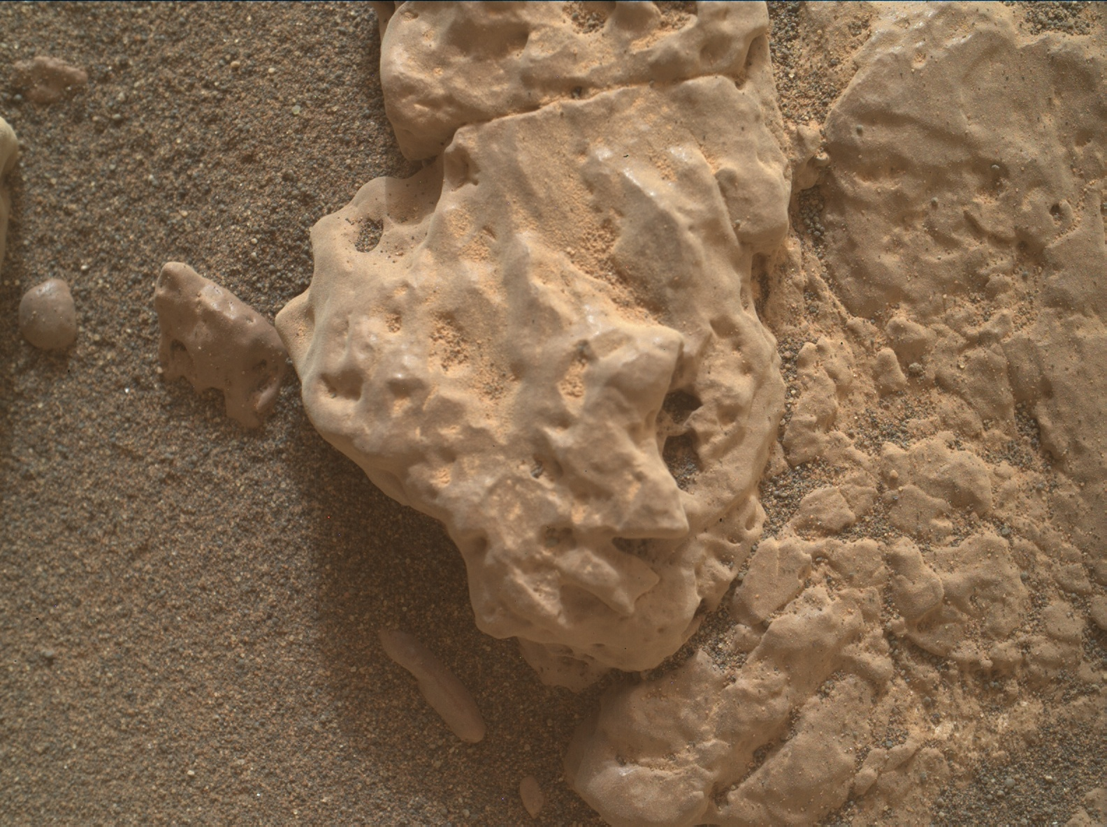 Nasa's Mars rover Curiosity acquired this image using its Mars Hand Lens Imager (MAHLI) on Sol 2315