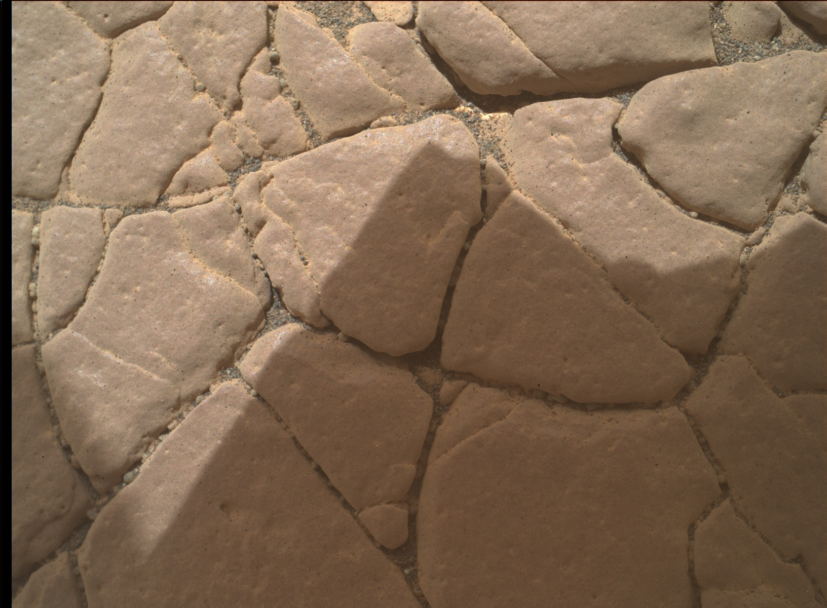 Nasa's Mars rover Curiosity acquired this image using its Mars Hand Lens Imager (MAHLI) on Sol 2352