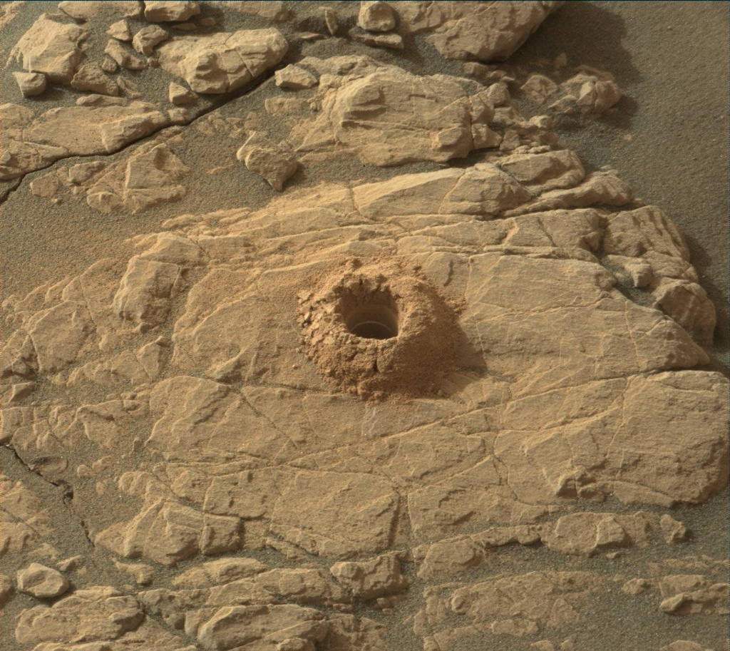 NASA's Mars rover Curiosity acquired this image using its Mast Camera (Mastcam) on Sol 2375