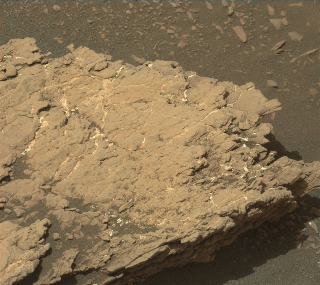 NASA's Mars rover Curiosity acquired this image using its Mast Camera (Mastcam) on Sol 2381