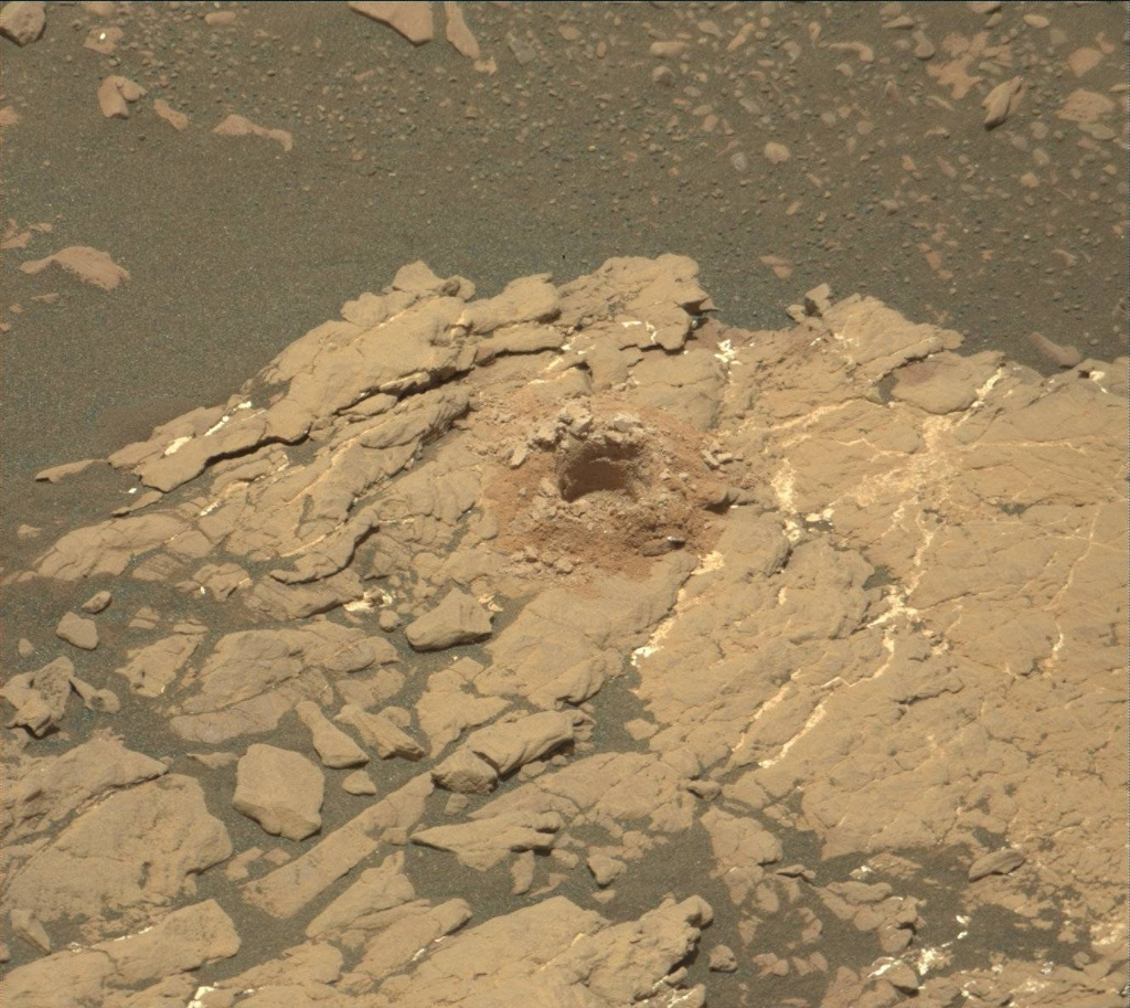 NASA's Mars rover Curiosity acquired this image using its Mast Camera (Mastcam) on Sol 2384