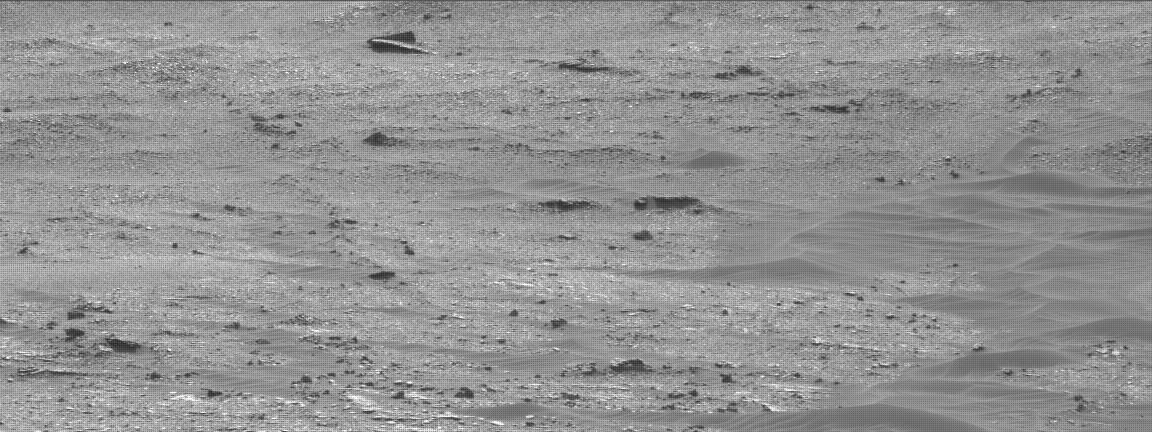 Nasa's Mars rover Curiosity acquired this image using its Mast Camera (Mastcam) on Sol 2389
