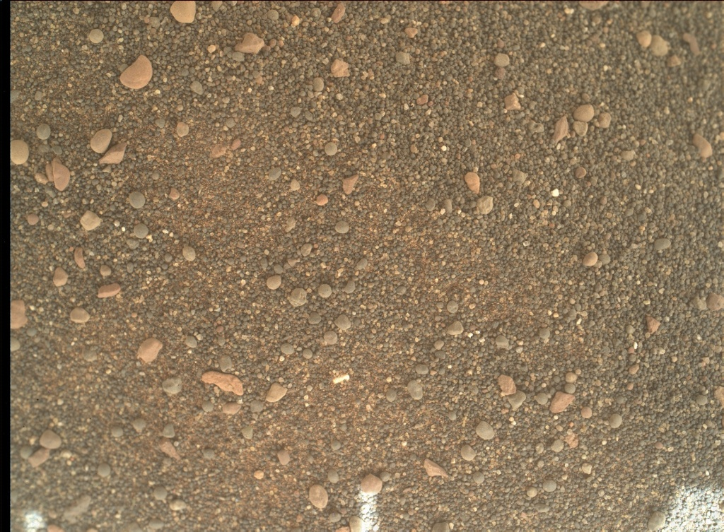NASA's Mars rover Curiosity acquired this image using its Mars Hand Lens Imager (MAHLI) on Sol 2409
