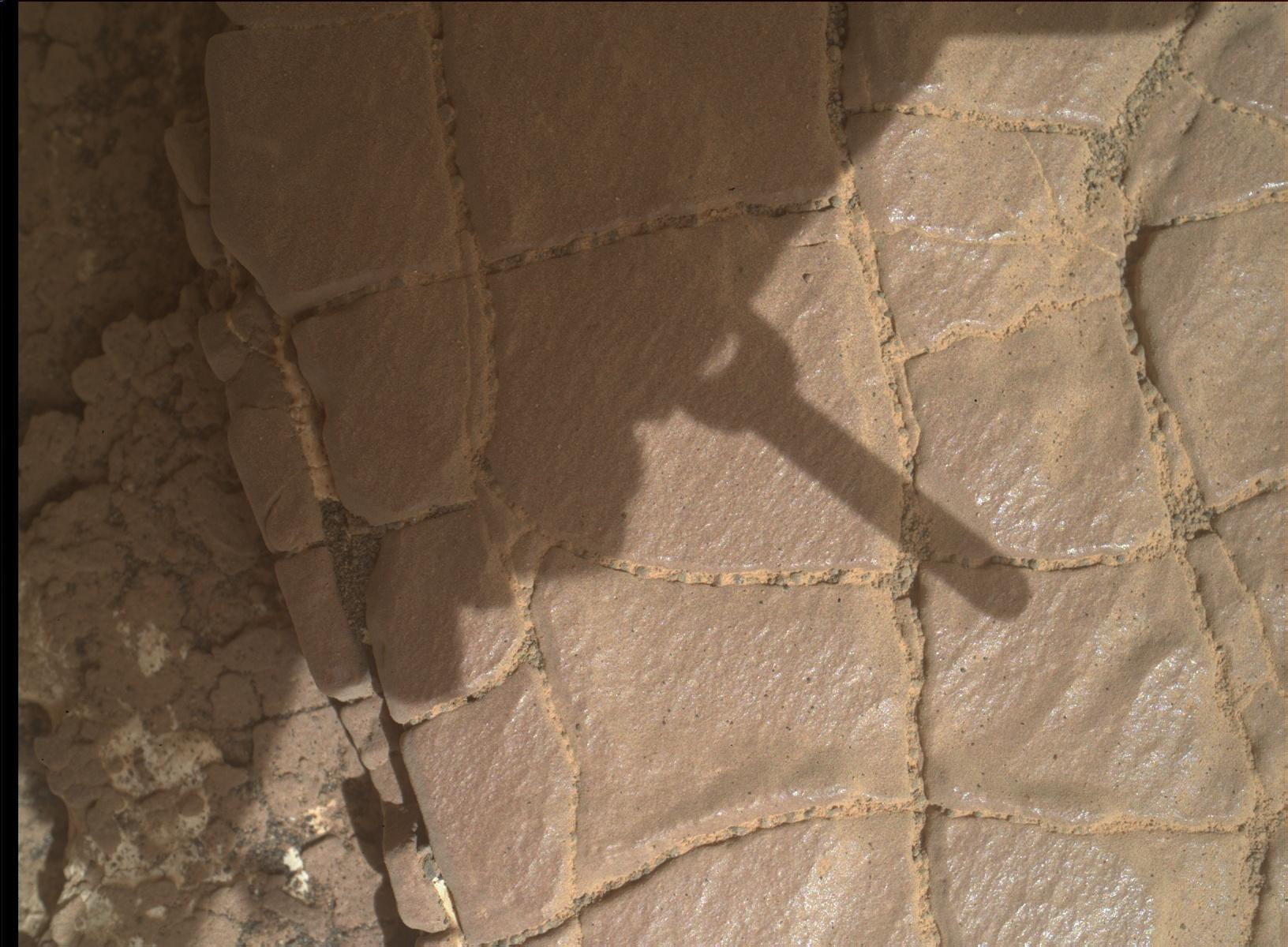 Sol 2424-2426: West Side Multispectral Story