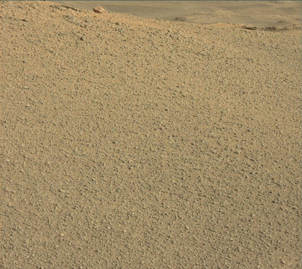 NASA's Mars rover Curiosity acquired this image using its Mast Camera (Mastcam) on Sol 2434