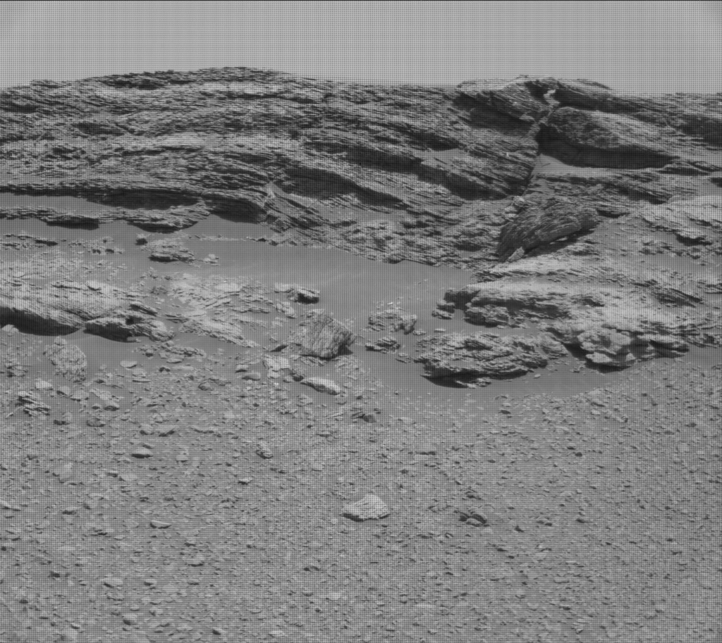 NASA's Mars rover Curiosity acquired this image using its Mast Camera (Mastcam) on Sol 2437