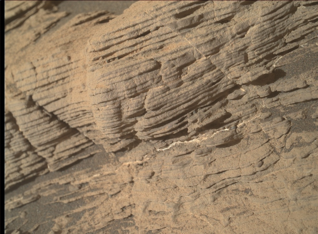 NASA's Mars rover Curiosity acquired this image using its Mars Hand Lens Imager (MAHLI) on Sol 2444