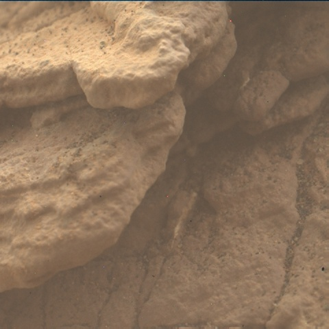 Nasa's Mars rover Curiosity acquired this image using its Mars Hand Lens Imager (MAHLI) on Sol 2458