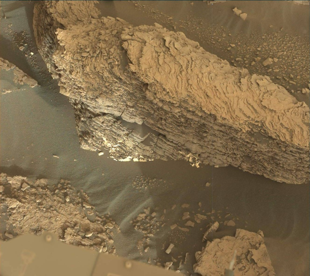 NASA's Mars rover Curiosity acquired this image using its Mast Camera (Mastcam) on Sol 2459
