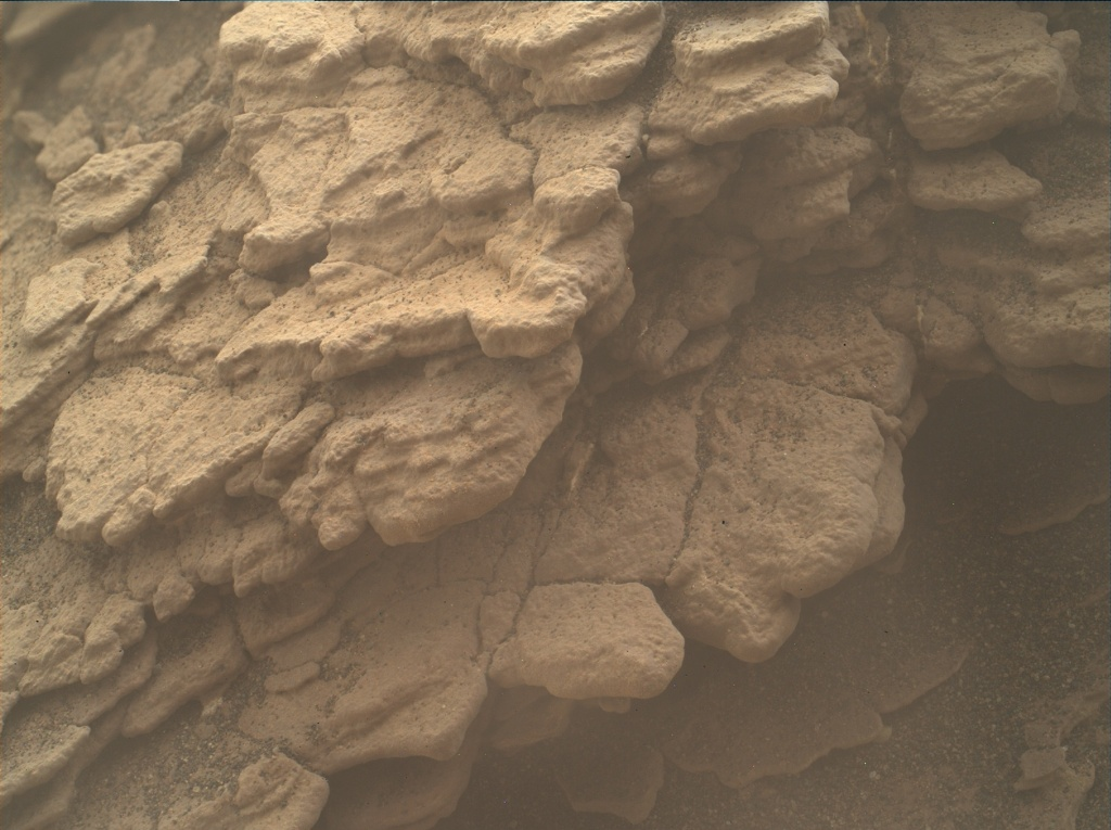 NASA's Mars rover Curiosity acquired this image using its Mars Hand Lens Imager (MAHLI) on Sol 2459