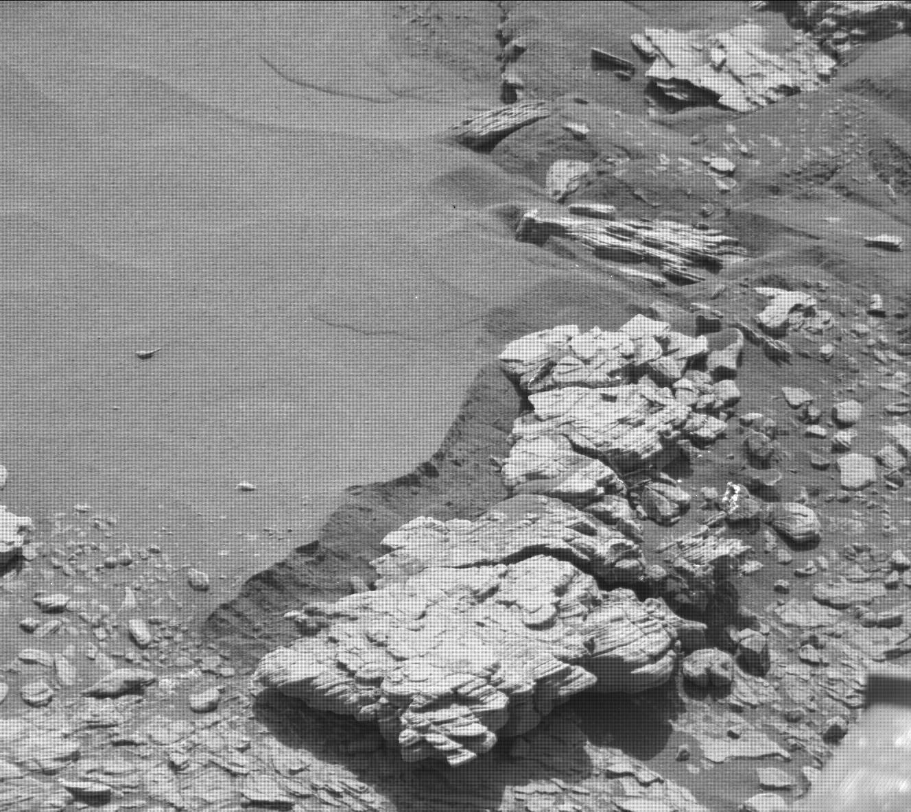 Nasa's Mars rover Curiosity acquired this image using its Mast Camera (Mastcam) on Sol 2463