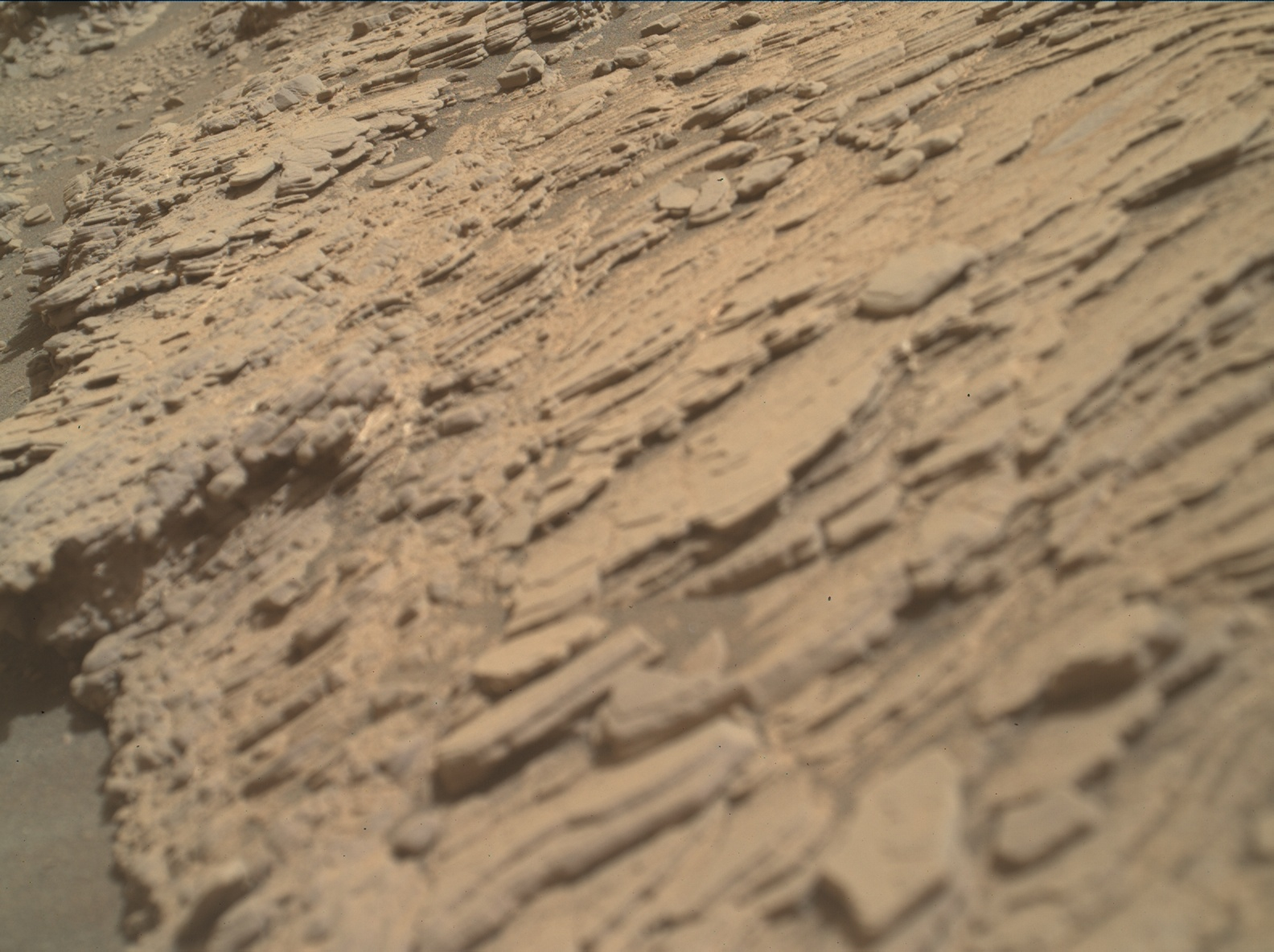 Nasa's Mars rover Curiosity acquired this image using its Mars Hand Lens Imager (MAHLI) on Sol 2465