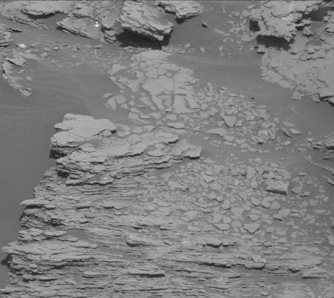 Nasa's Mars rover Curiosity acquired this image using its Mast Camera (Mastcam) on Sol 2466