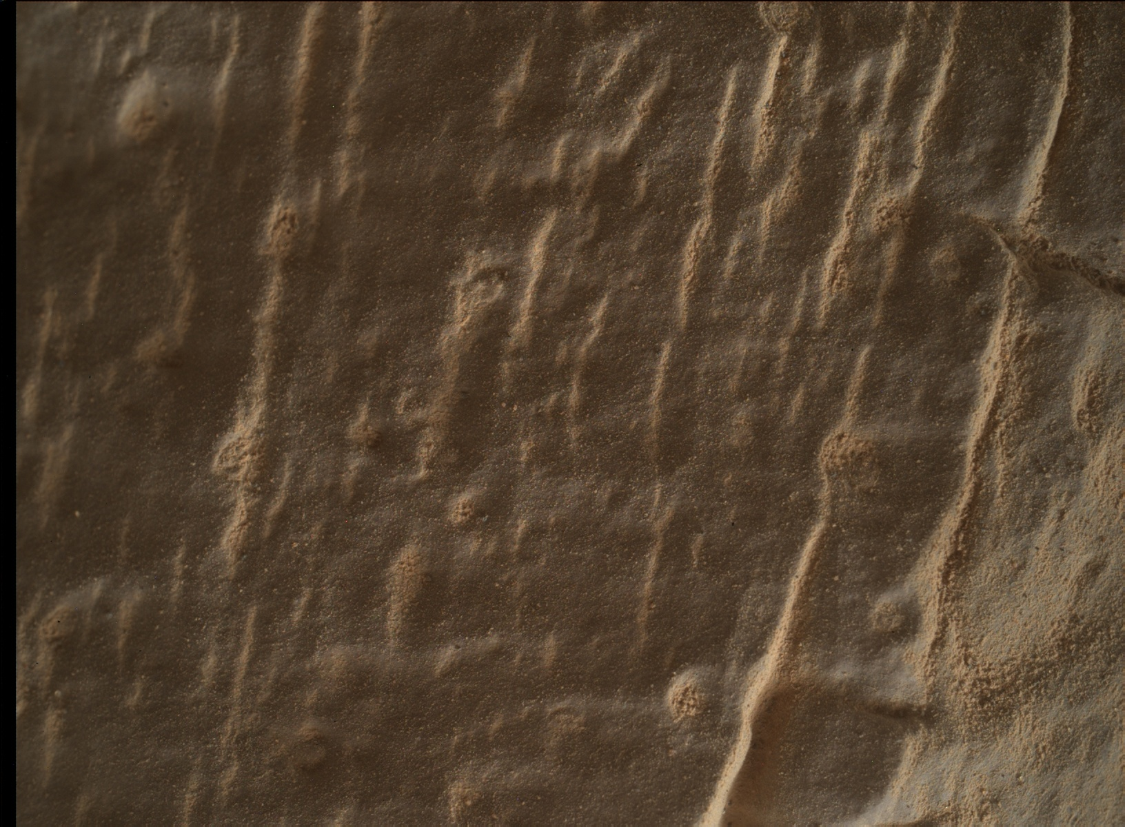 Nasa's Mars rover Curiosity acquired this image using its Mars Hand Lens Imager (MAHLI) on Sol 2470