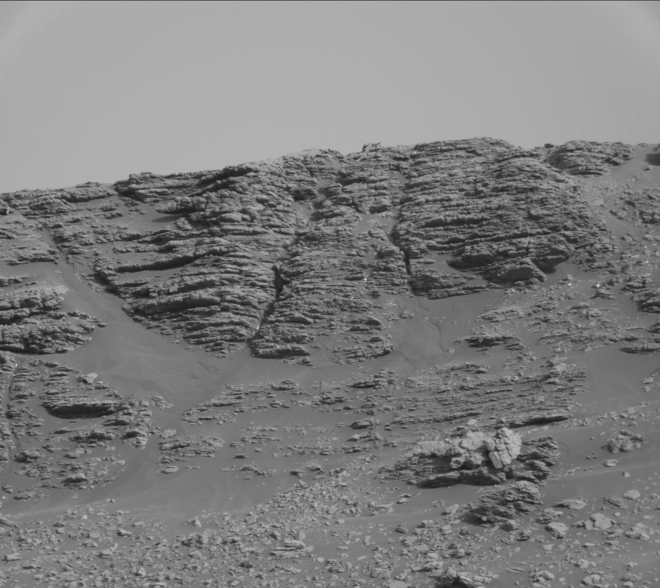 Sol 2474: A Great Outcrop!