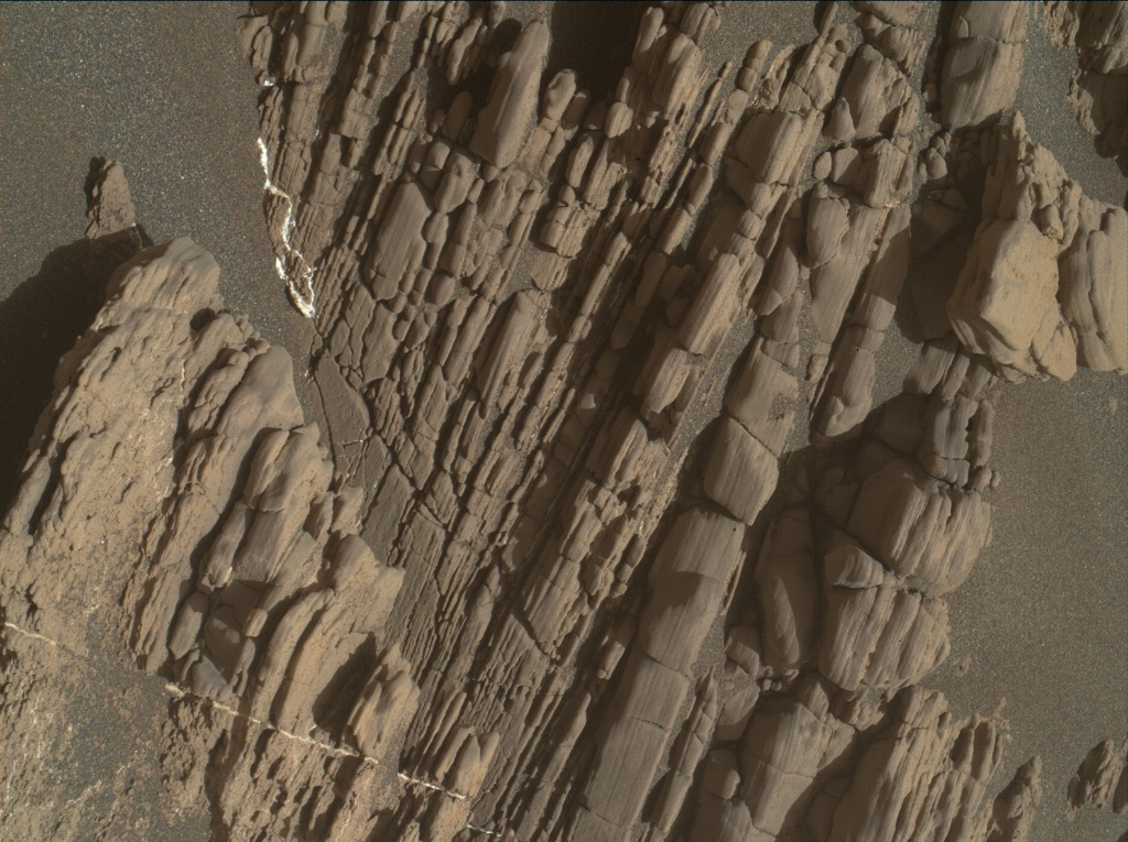 NASA's Mars rover Curiosity acquired this image using its Mars Hand Lens Imager (MAHLI) on Sol 2477