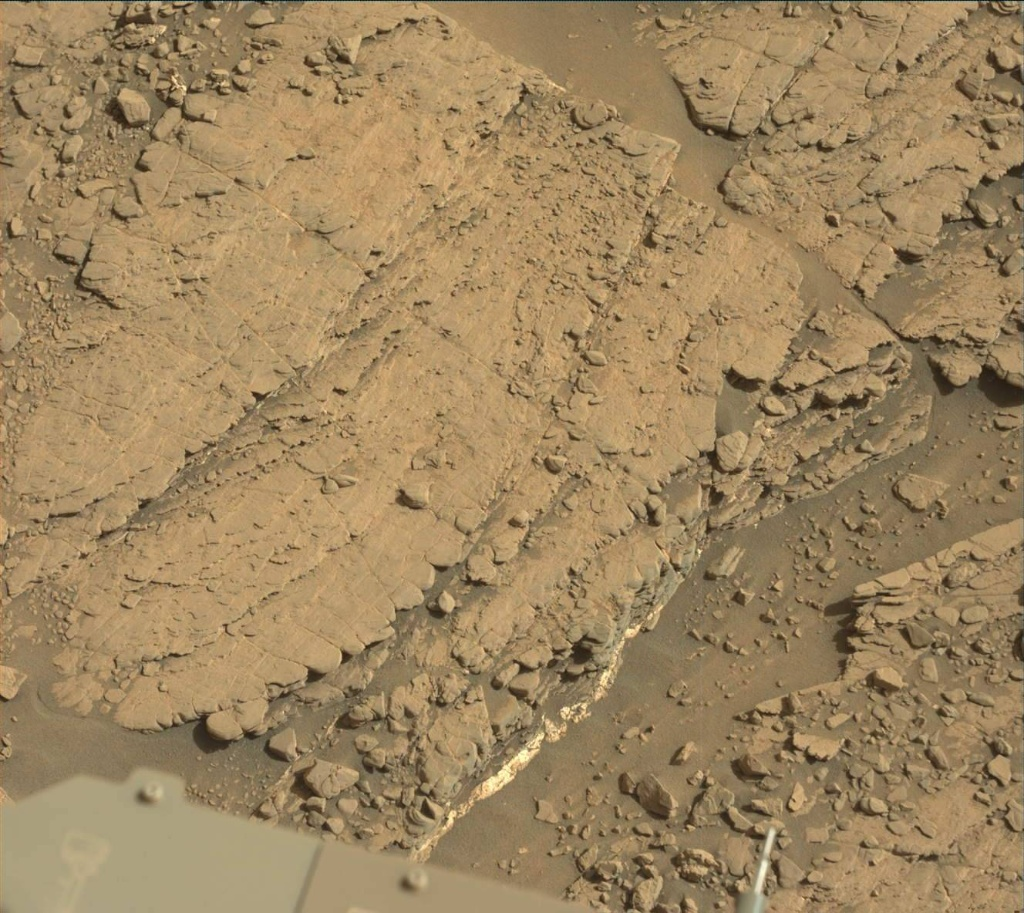 NASA's Mars rover Curiosity acquired this image using its Mast Camera (Mastcam) on Sol 2481