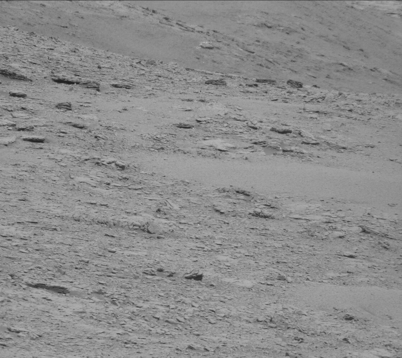 Nasa's Mars rover Curiosity acquired this image using its Mast Camera (Mastcam) on Sol 2484