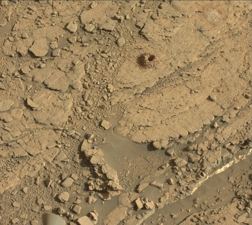 NASA's Mars rover Curiosity acquired this image using its Mast Camera (Mastcam) on Sol 2490
