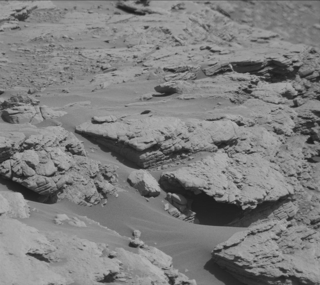 Nasa's Mars rover Curiosity acquired this image using its Mast Camera (Mastcam) on Sol 2523