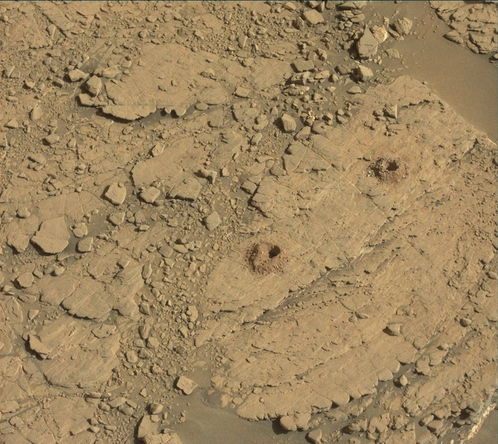 NASA's Mars rover Curiosity acquired this image using its Mast Camera (Mastcam) on Sol 2529