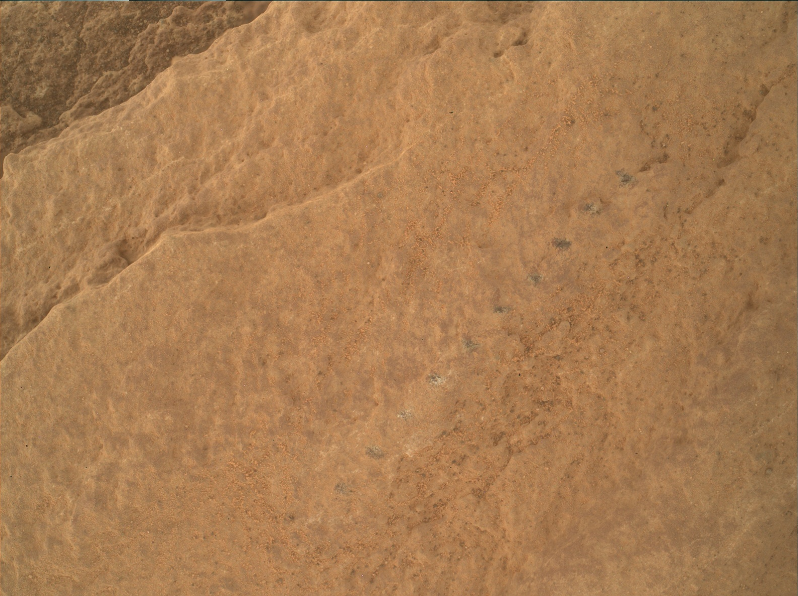 Nasa's Mars rover Curiosity acquired this image using its Mars Hand Lens Imager (MAHLI) on Sol 2579