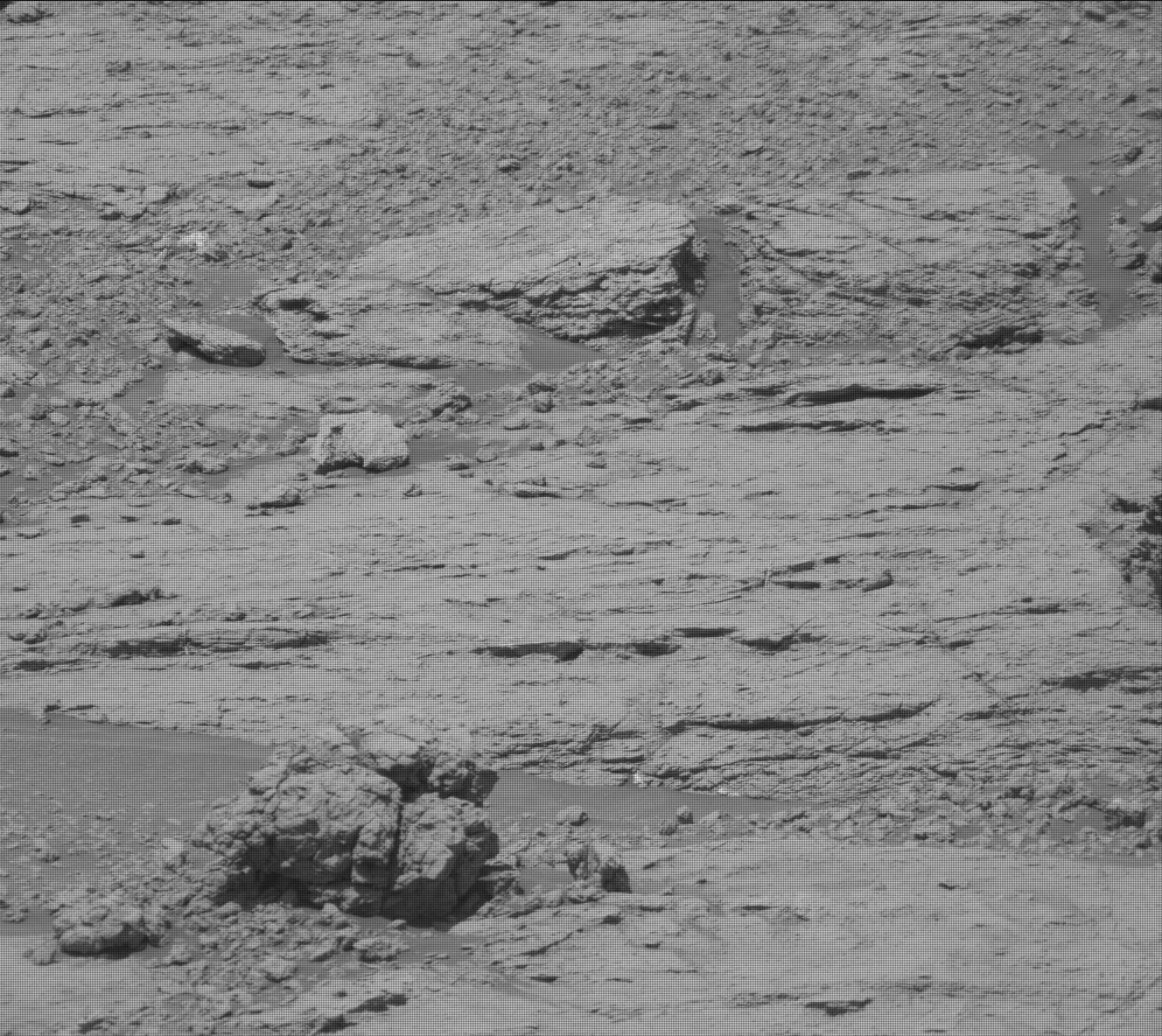 Nasa's Mars rover Curiosity acquired this image using its Mast Camera (Mastcam) on Sol 2581