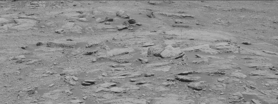 Nasa's Mars rover Curiosity acquired this image using its Mast Camera (Mastcam) on Sol 2597