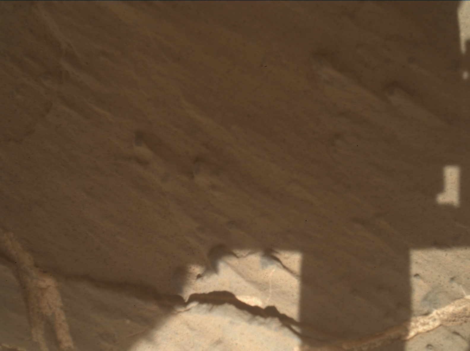 Nasa's Mars rover Curiosity acquired this image using its Mars Hand Lens Imager (MAHLI) on Sol 2613