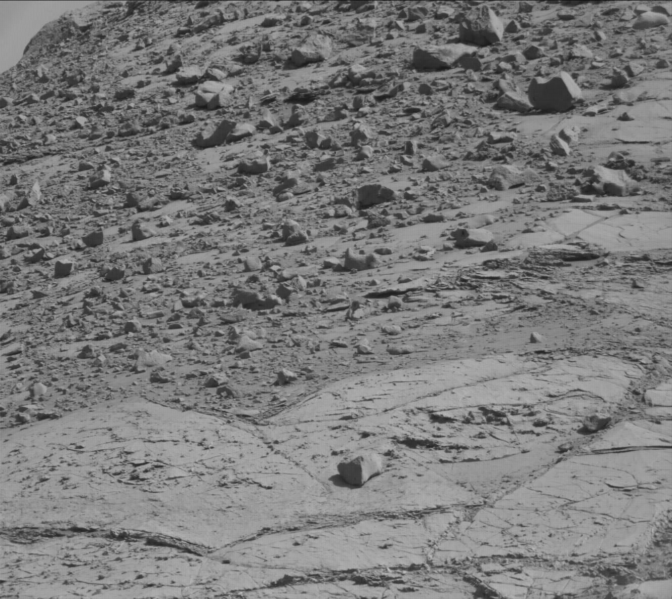 Nasa's Mars rover Curiosity acquired this image using its Mast Camera (Mastcam) on Sol 2620