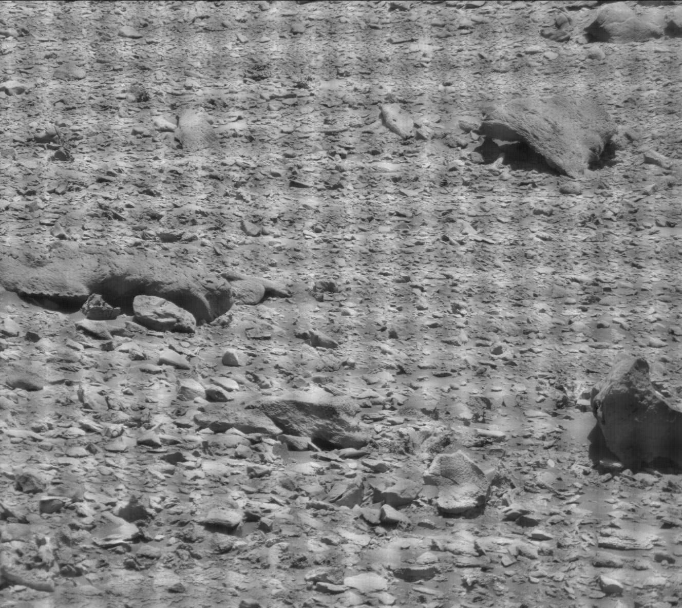 Nasa's Mars rover Curiosity acquired this image using its Mast Camera (Mastcam) on Sol 2635