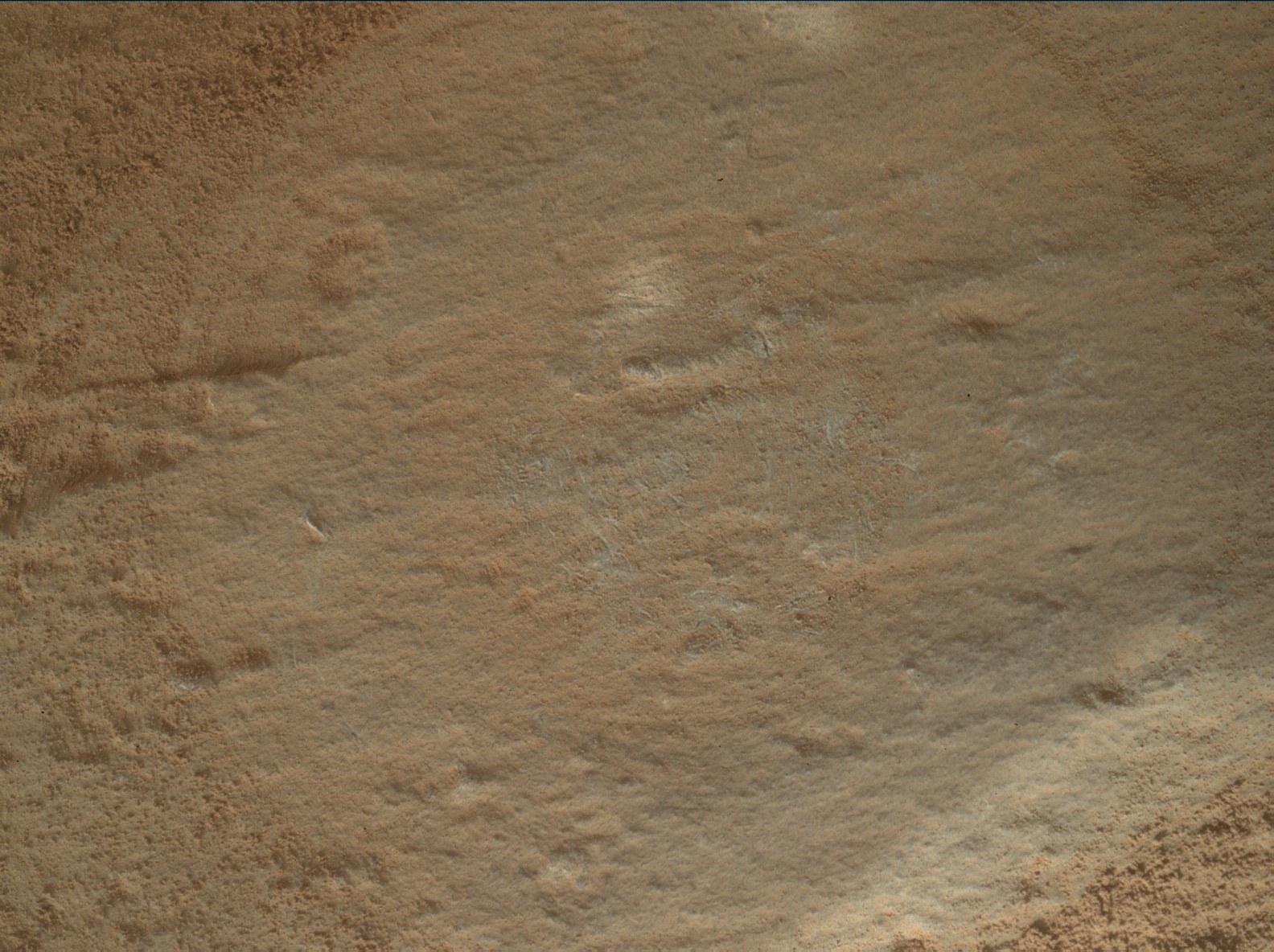 Nasa's Mars rover Curiosity acquired this image using its Mars Hand Lens Imager (MAHLI) on Sol 2662