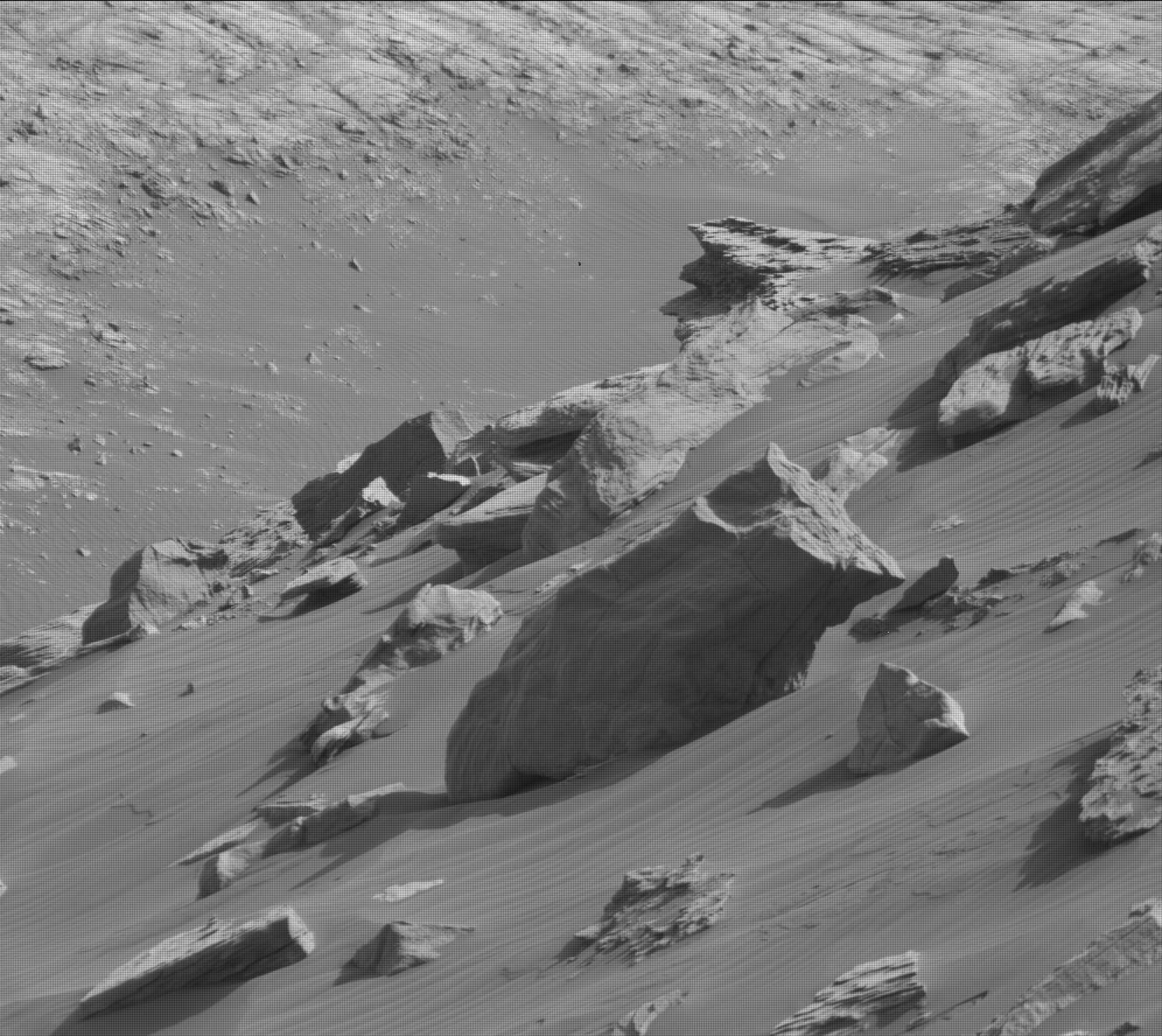 Nasa's Mars rover Curiosity acquired this image using its Mast Camera (Mastcam) on Sol 2671