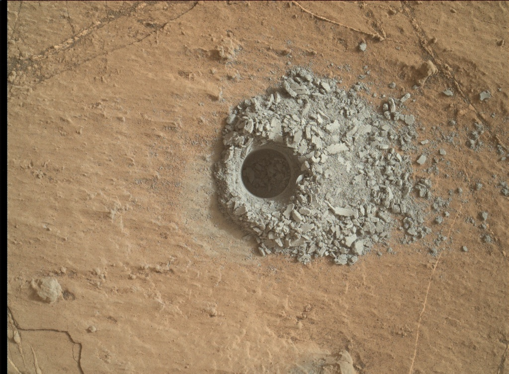 Read article: Sol 2686-2687: The Tail End of the Hutton Drill Campaign