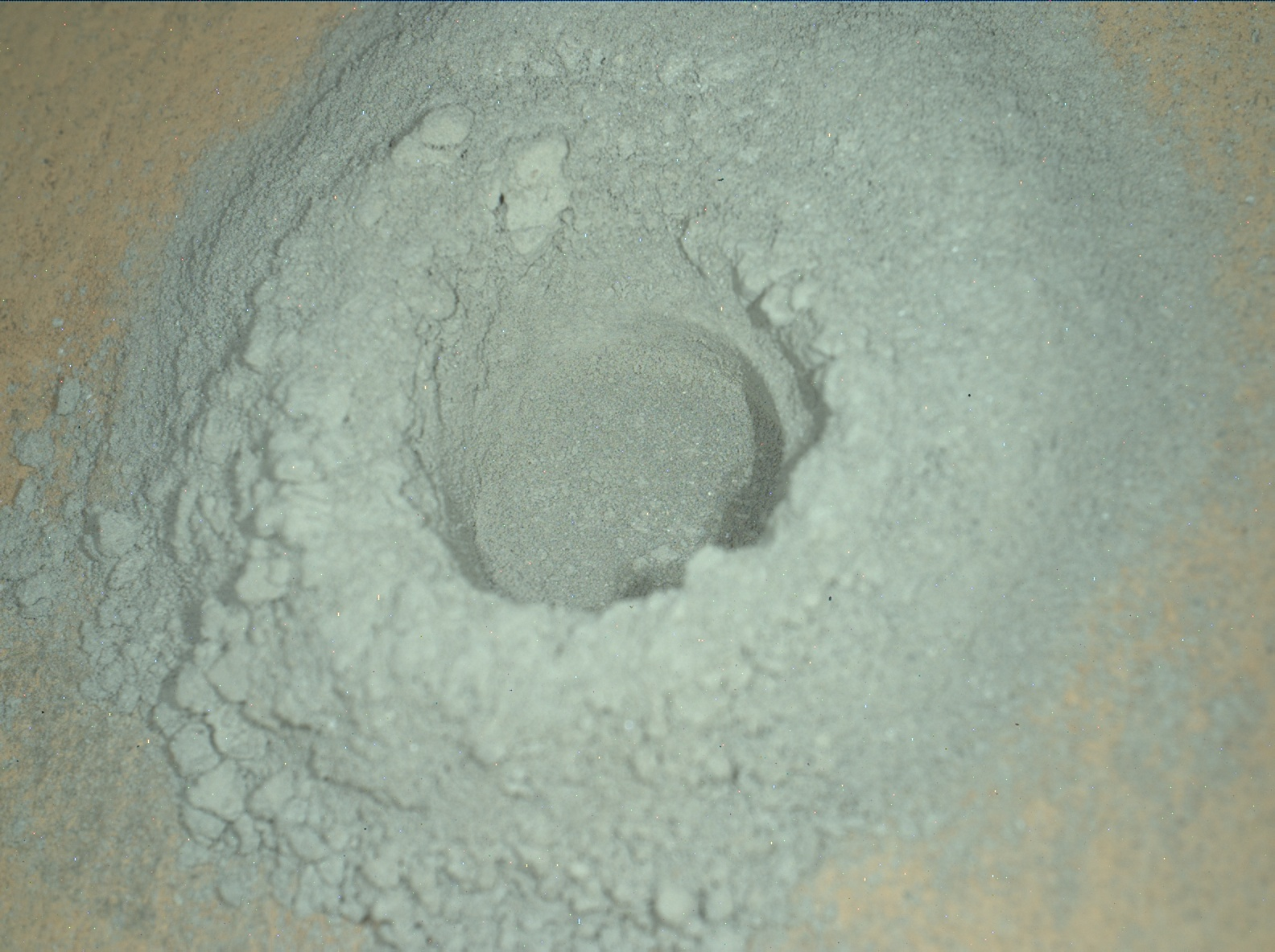 Nasa's Mars rover Curiosity acquired this image using its Mars Hand Lens Imager (MAHLI) on Sol 2727