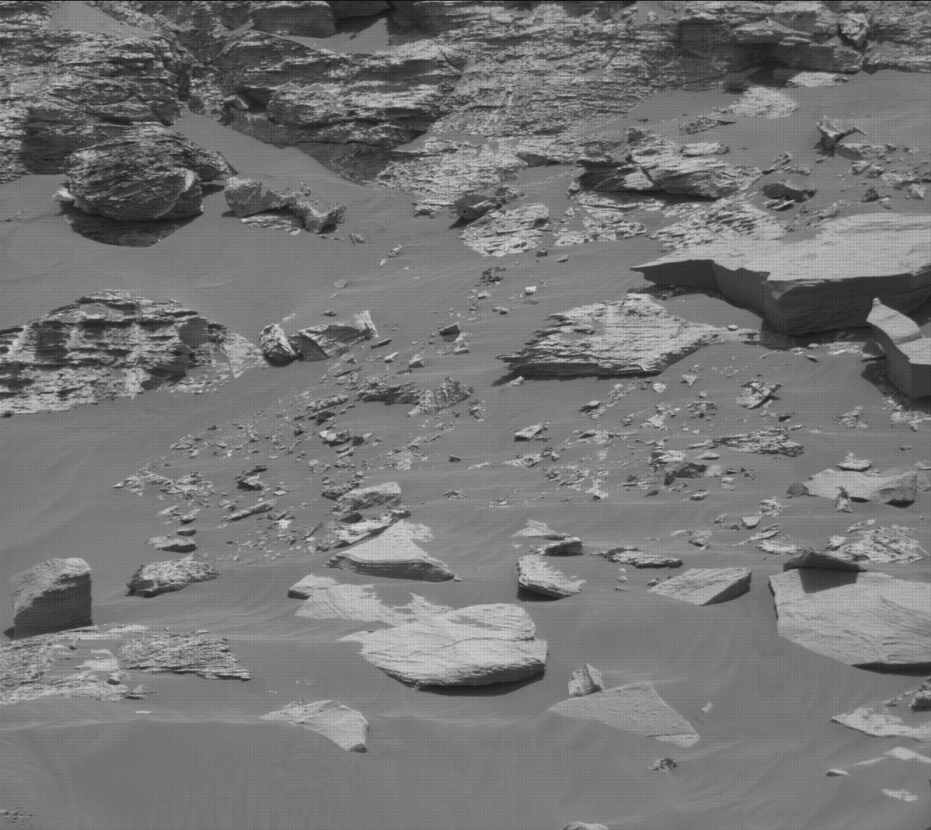 Nasa's Mars rover Curiosity acquired this image using its Mast Camera (Mastcam) on Sol 2751