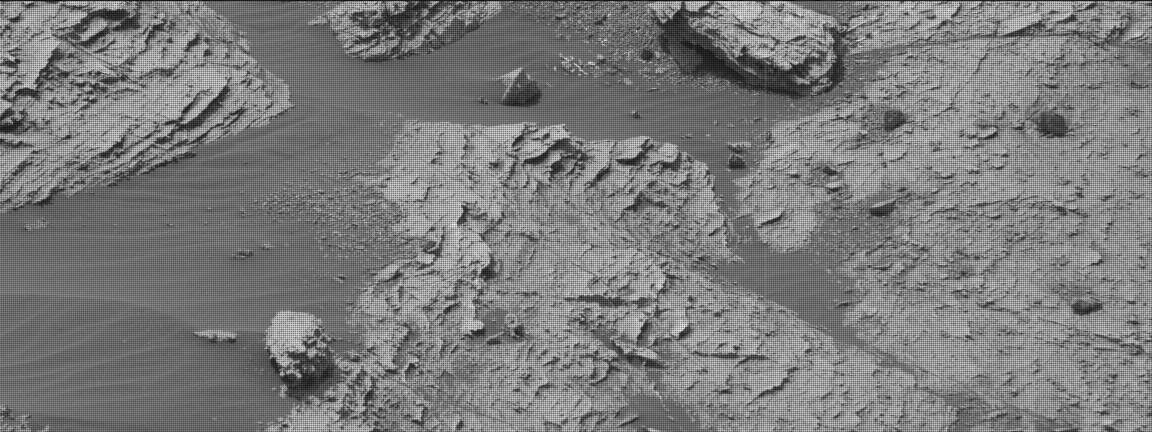 Nasa's Mars rover Curiosity acquired this image using its Mast Camera (Mastcam) on Sol 2801