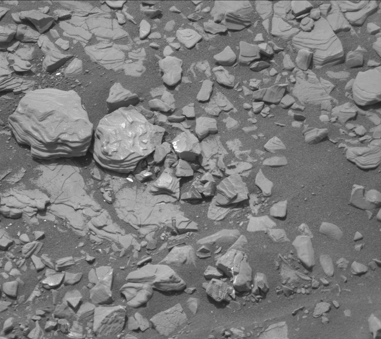 Nasa's Mars rover Curiosity acquired this image using its Mast Camera (Mastcam) on Sol 2850, at drive 2176, site number 82