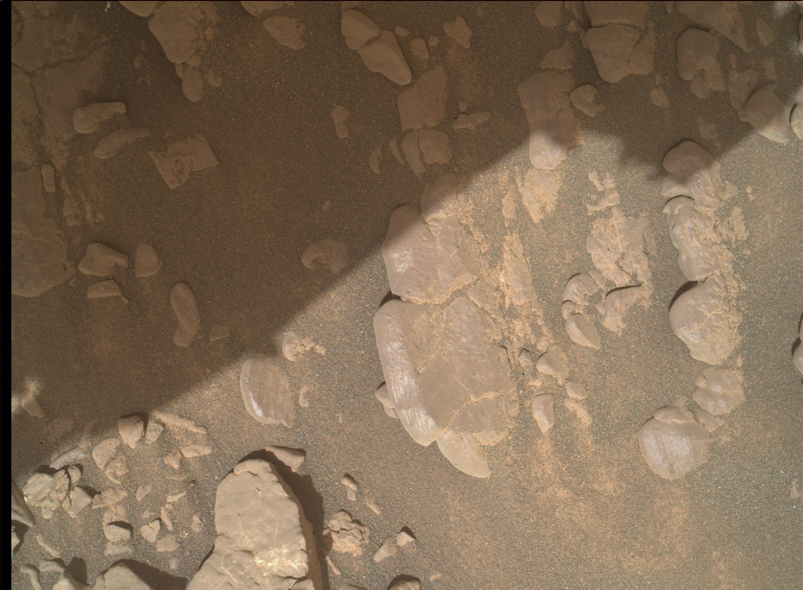 Nasa's Mars rover Curiosity acquired this image using its Mars Hand Lens Imager (MAHLI) on Sol 2942