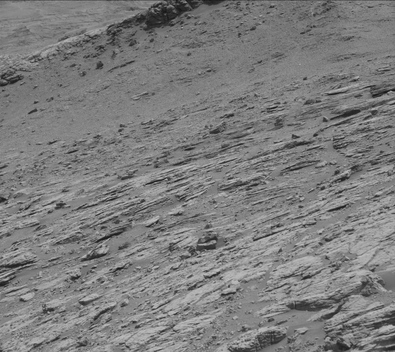 Nasa's Mars rover Curiosity acquired this image using its Mast Camera (Mastcam) on Sol 2950