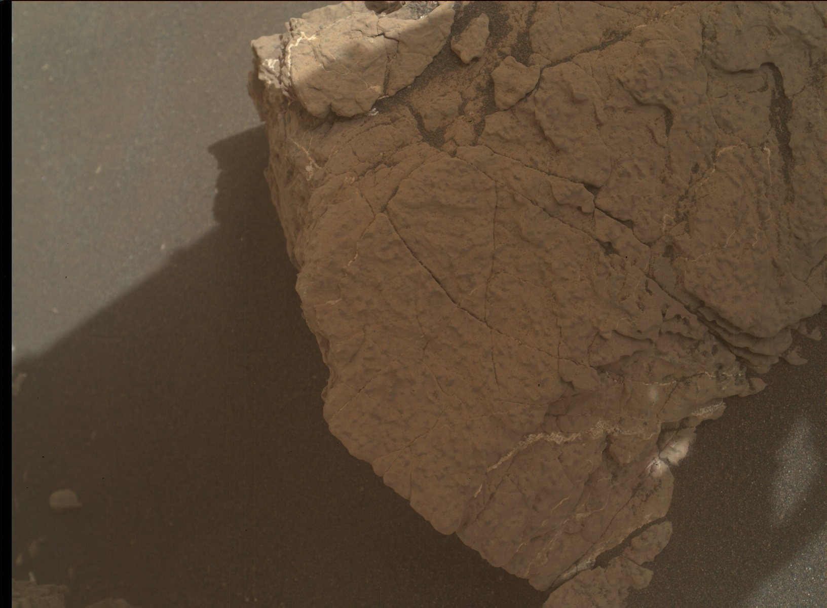 Nasa's Mars rover Curiosity acquired this image using its Mars Hand Lens Imager (MAHLI) on Sol 3024