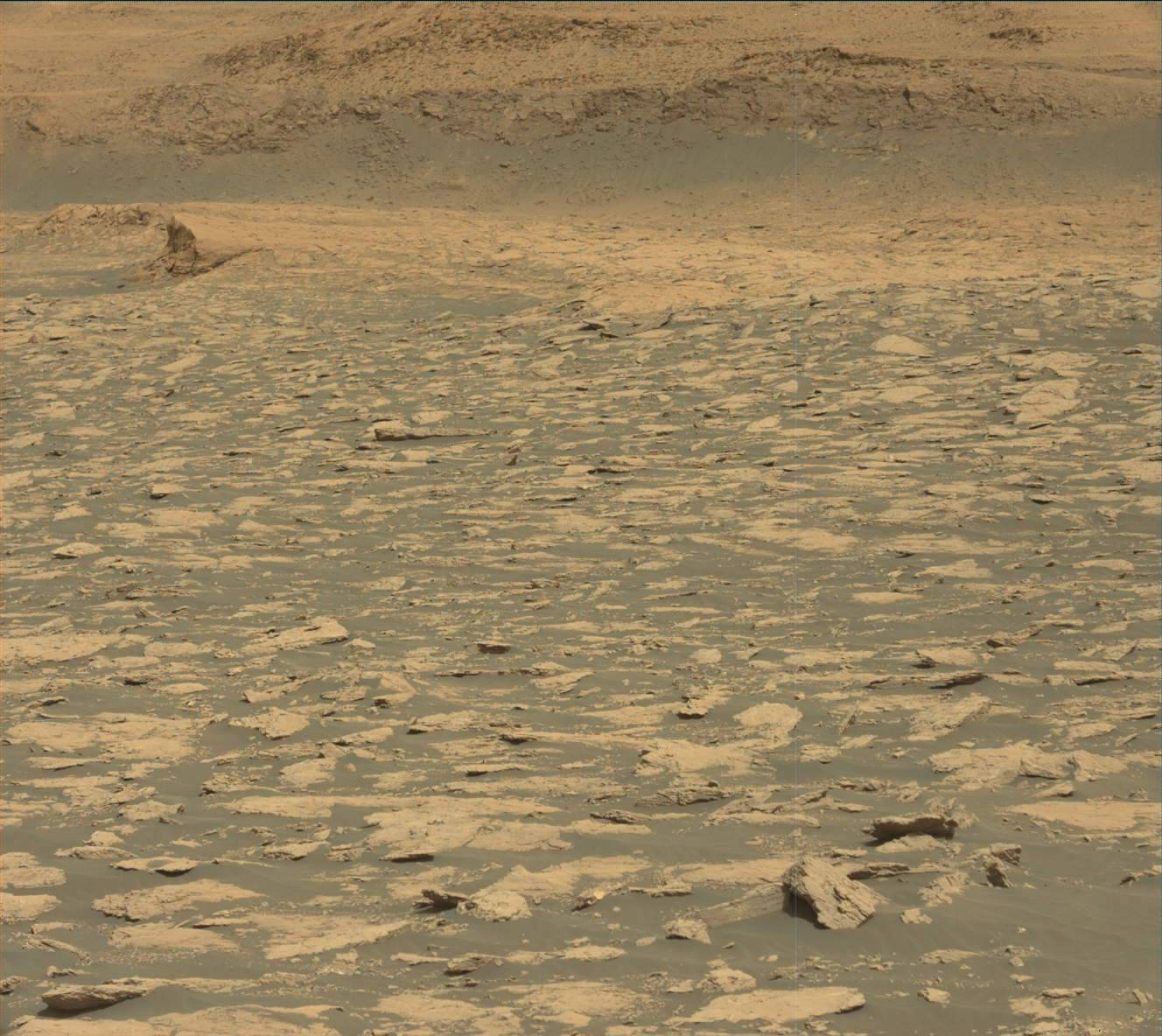 Nasa's Mars rover Curiosity acquired this image using its Mast Camera (Mastcam) on Sol 3025